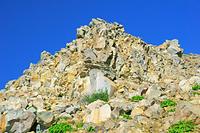 長野県 御嶽山九合目付近の岩