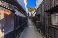 愛知県 足助の町並 マンリン小路