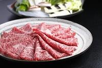 牛しゃぶ霜降り肉
