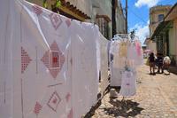 キューバ ファゴッティング(伝統刺繍) サマードレスとテーブ...