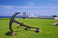 北海道 イカリといさりの碑