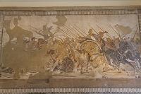 イタリア ナポリ 国立考古学博物館『アレクサンドロス大王の戦...