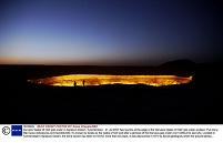 トルクメニスタン ダルヴァザ「地獄の門」
