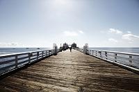 アメリカ合衆国 カリフォルニア マリブ 桟橋