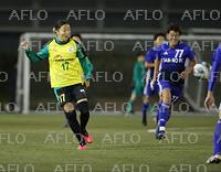 サッカー:永里優季が男子チームデビュー