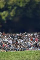 ゴルフの観客