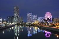 神奈川県 横浜 みなとみらいの夜景