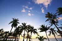 グアム タモンビーチのサンセット