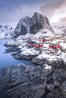 ノルウェー ロフォーテン諸島 ハムノイの村