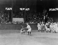 昔の野球試合