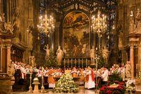 オーストリア シュテファン大聖堂・クリスマス礼拝