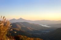 福島県 磐梯山 檜原湖