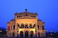 ドイツ フランクフルト アルテ・オーパー(旧オペラ座)