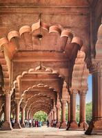 インド デリー 赤い城 ディワーニ・アーム