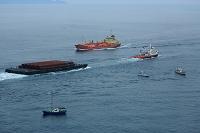 徳島県 鳴門海峡 貨物船