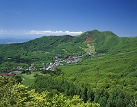 新緑の蔵王温泉 山形県山形市
