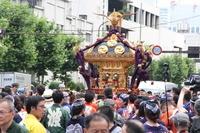 波除稲荷神社つきじ獅子祭(宮神輿渡御)