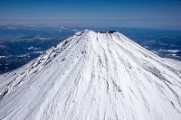 静岡県 富士山山頂付近(高度3,500mより撮影)