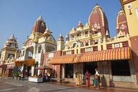 インド デリー ラクシュミーナラヤン寺院