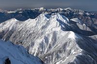 長野県 八ヶ岳より南アルプス連山