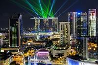 中国 シンガポール 夜景