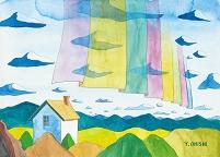 空のカーテン