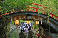 京都府 下鴨神社 みたらし祭