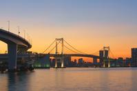 東京都 レインボーブリッジ夜景
