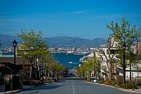 北海道 函館八幡坂から摩周丸