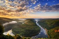 ドイツ メトラッハ ザール川