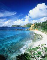 父島 ジョンビーチと南島
