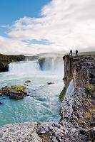アイスランド ゴーザフォス