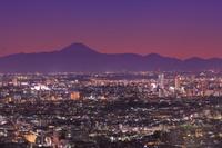 東京都 恵比寿から関東平野の夜景