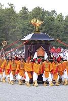 京都府 時代祭 神幸列の御鳳輩