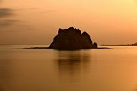 北海道 様似町海岸 親子岩