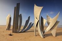 フランス オマハビーチ記念碑