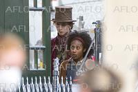 ティモシー・シャラメ、映画「Wonka」を撮影中