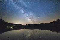 北海道 オンネトー 天の川