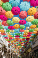 ポルトガル アゲダ 傘祭り