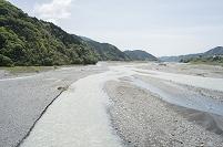 安倍川 中流