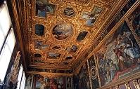 イタリア ヴェネツィア ドゥカーレ宮殿 謁見の間 天井
