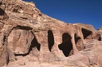 石窟群 ペトラ ワディムーサ ヨルダン