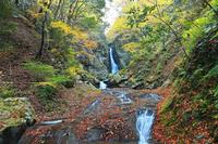 福岡県矢部村八ツ滝の秋