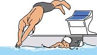 競泳競技 リレー