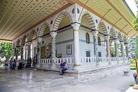 トルコ イスタンブール トプカプ宮殿 謁見の間