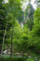 北海道 銀河の滝 大雪山国立公園 層雲峡 石狩川