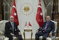 米副大統領とトルコ大統領が会談 シリア軍事作戦5日間停止で合意