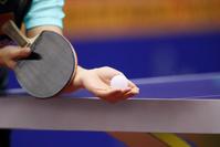 卓球のサーブ
