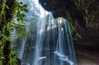 熊本県 朝の鍋ヶ滝