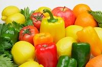 果実と野菜の集合写真